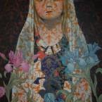 Bruissement de signes 5 60 cm x 80cm acrylique sur toile 2008