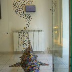 """2008 """"Bruissement de signes"""", Galerie Le Réalgar, Saint-Etienne, France"""