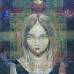 Image dévorante 11 100 cm x 100 cm acrylique sur toile 2006