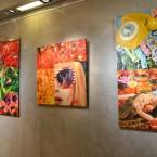 2016 « Onirique » ,Peintures et dessins, La Galerie Valérie Eymeric, Lyon.