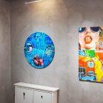 """fausse note"" exposition individuelle la galerie Valérie Eymeric Lyon 2020"